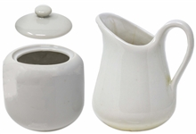 Sugar & Creamer Set Owned by the Kennedy Family -- From Sothebys 2005 Sale, Property From Kennedy Family Homes