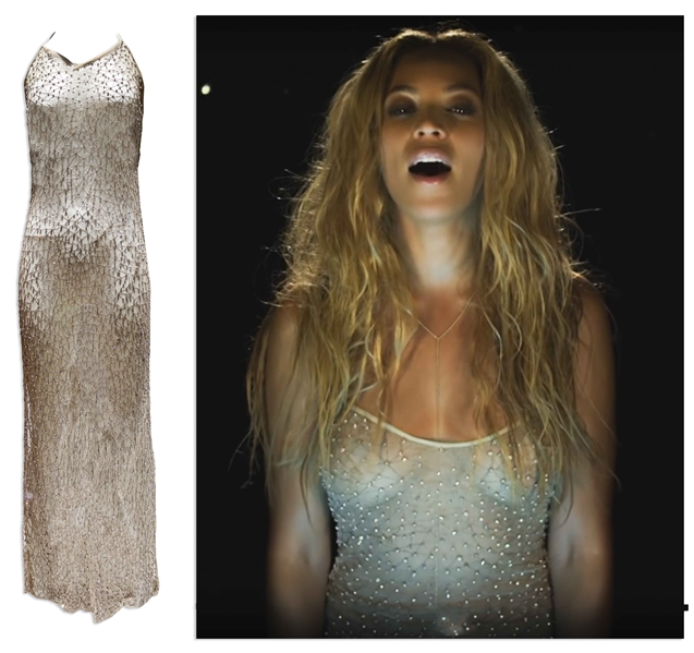 Beyoncé Worn Gown From Her ''1+1'' Video by Designer Mirco Giovannini