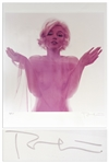 Marilyn Monroe Photograph From the Last Sitting -- Signed by Photographer Bert Stern of a 250 Limited Edition