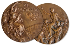 Bronze Medal From the 1936 Summer Olympics, Held in Berlin, Germany -- Won by American Ernest Riedel