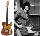Keith Richards Custom Guitar Signed & Stage-Played With the Rolling Stones During the Some Girls Recording Sessions, Tour & Videos