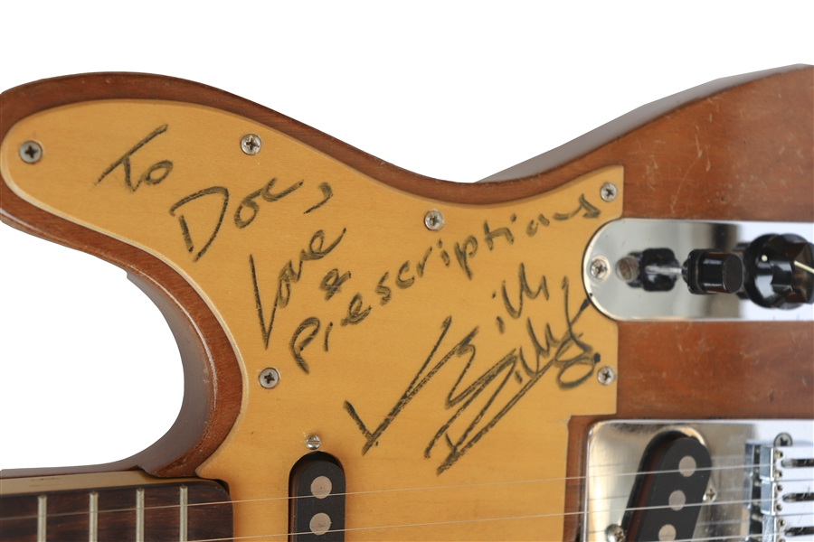 Keith Richards' Custom Guitar Signed & Stage-Played With the Rolling Stones During the ''Some Girls'' Recording Sessions, Tour & Videos