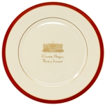 Ronald Reagan Lenox China Plate Commemorating His 1981 Inauguration