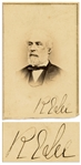 Robert E. Lee Signed CDV Photo