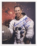 James Lovell Signed 8 x 10 Photo -- Houston we have a problem