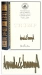 Donald Trump Signed Deluxe Edition of How to Get Rich -- One of Only 100 Signed in the Easton Press Limited Edition