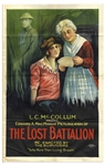 Original One Sheet Movie Poster for The Lost Battalion 1919 Silent Film