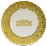 Bill Clinton White House China Service Plate to Honor the 200th Anniversary of the White House