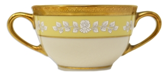 Bill Clinton White House China Bouillon Bowl to Honor the 200th Anniversary of the White House