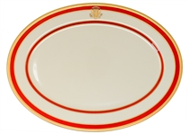Ronald Reagan White House China Platter Made for State Dinners