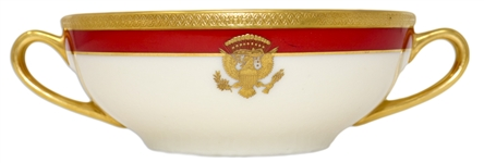 Ronald Reagan White House China Soup Bowl Made for State Dinners