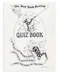 Edward Gorey Original Artwork for The New York Review Quiz Book