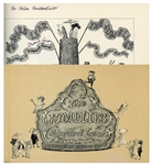 Edward Gorey Signed First Edition of The Jumblies -- Also Signed by Clifford Ross