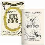 Edward Gorey Signed First Edition of The New York Review Quiz Book -- With Delightful Gorey Illustrations Throughout