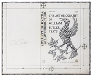 Edward Gorey Original Cover Artwork for The Autobiography of William Butler Yeats, Published 1958