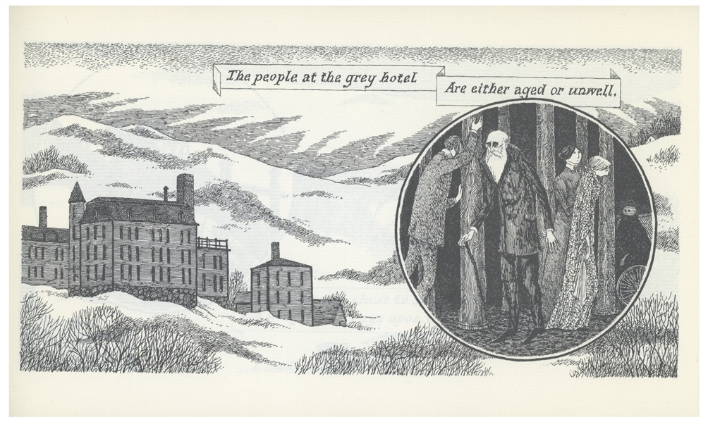 Edward Gorey Signed First Edition of ''The Iron Tonic'' -- One of Only Five ''Out of Series'' Copies Reserved for Friends