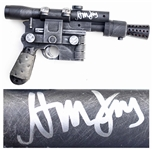 Harrison Ford Signed Star Wars Blaster Gun -- With Beckett COA