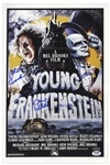 Young Frankenstein Cast-Signed 12 x 18 Photo of the Movie Poster -- With PSA/DNA COA