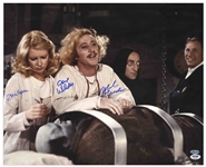 Young Frankenstein Cast-Signed 20 x 16 Photo, Showing the Actors in a Candid Pose -- With PSA/DNA COA