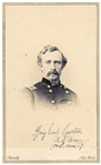 George Custer CDV With Mathew Brady Backstamp -- A Rare View of the Civil War General