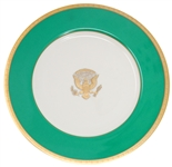 Jimmy Carter White House China Service Plate Made for State Dinners