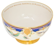 Lenox China Presentation Bowl in the Millennium Style, Made for the Clinton White House