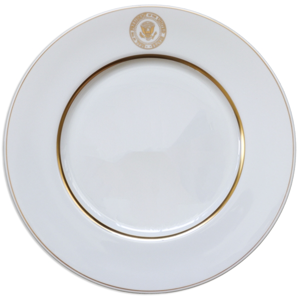 Presidential Dinner Plate Used Aboard Air Force One