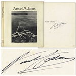 Ansel Adams Signed Copy of His Monograph Entitled Ansel Adams Comprising 117 Photographs