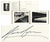 Ansel Adams Signed First Edition of Photographs of the Southwest