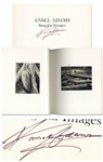 Ansel Adams Signed First Edition of Singular Images