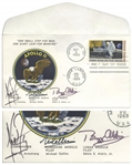 Apollo 11 Crew-Signed First Man on the Moon First Day Cover