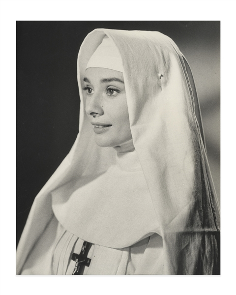 Audrey Hepburn's Personally Owned Photo From ''The Nun's Story'' -- Measuring 9.5'' x 11.75''