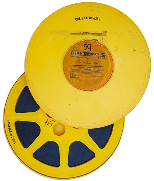 Four Original 16mm Film Reels of ''I Love Lucy'' Including ''Be a Pal'', the 3rd Episode of Season One
