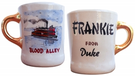 John Wayne Coffee Mug That He Gave to His Stuntman in Blood Alley