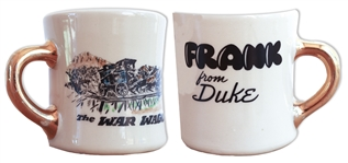 John Wayne Coffee Mug That He Gave to His Stuntman in The War Wagon