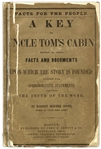 First Edition of A Key to Uncle Toms Cabin by Harriet Beecher Stowe, in Publishers Wrappers