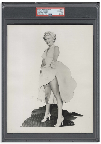 Marilyn Monroe ''Seven Year Itch'' 8'' x 10'' Photo From the Famous Subway Scene