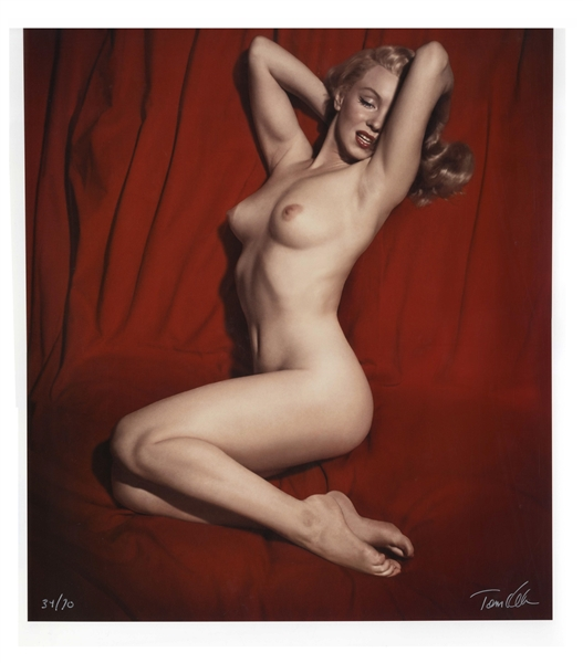 Tom Kelley Limited Edition Giclee Photograph of Marilyn Monroe -- Beautiful ''Pose #6'' Photo Measures 17'' x 22''