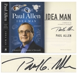 Paul Allen Signed First Edition of His Memoir Idea Man -- Uninscribed