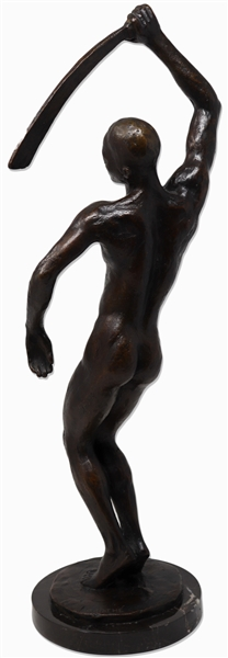 Richmond Barthé Bronze Sculpture of Féral Benga -- The Sculptor's Most Famous Work, and a Hallmark of the Harlem Renaissance