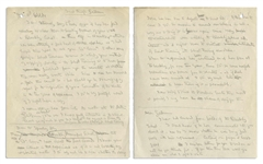 Robert Baden-Powell Lot of Three Autograph Draft Letters Regarding the Closing of a Boy Scout Troop