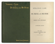 First Edition of Robert Louis Stevensons Classic Strange Case of Dr Jekyll and Mr Hyde -- Near Fine Condition