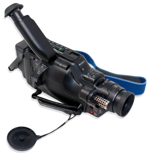 Video Camera Used by George Holliday to Record the Rodney King Police Beating on 3 March 1991