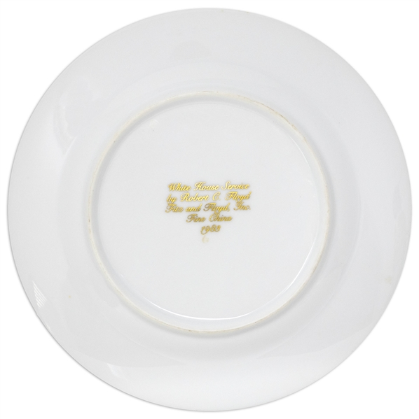 Ronald Reagan White House China Appetizer Plate
