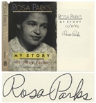 Rosa Parks Signed Copy of My Story