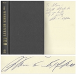 Warren Buffett Signed First Edition of The Warren Buffett CEO