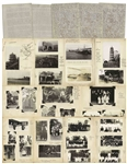 Large Archive From 1928-1931 Documenting the Chinese Civil War, Including Over 800 Silver Gelatin Photos & 100 Letters -- With Attention to Changsha, Where Mao Zedong Spent His Formative Years