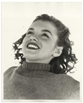 Original 8 x 10 Photograph of Marilyn Monroe Taken by Andre de Dienes in 1945 -- Marilyns First Collaboration With de Dienes
