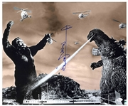 Haruo Nakajima Signed 20 x 16 Godzilla Photo -- With JSA COA