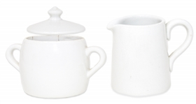 Sugar and Creamer Set Owned by the Kennedy Family -- From Sothebys 2005 Sale, Property From Kennedy Family Homes